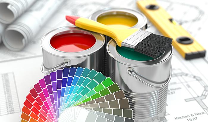 Farben und Produkte